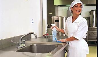Enkle råd for god kjøkkenhygiene og færre sykedager