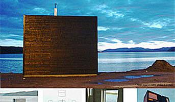 Norges minste hotell er egentlig et kunstverk