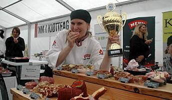 Tonje Hogsnes vant kjøttfag-NM for lærlinger