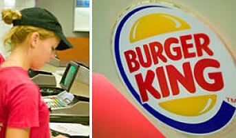 USA: Burger King stiger i negativt marked