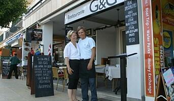 Kolbotn-par med restaurant på Mallorca