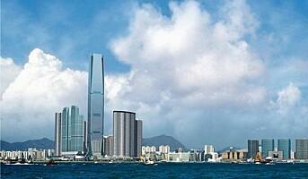 Hong-Kong får verdens høyeste hotellrom
