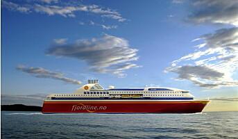 Fjord Line seiler i medvind