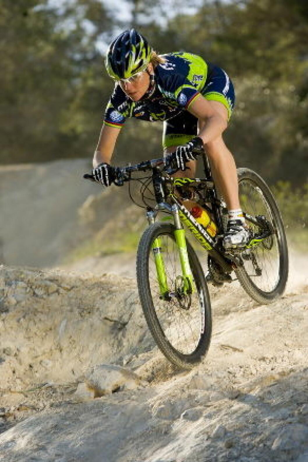 Gunn Rita Dahle sykkel