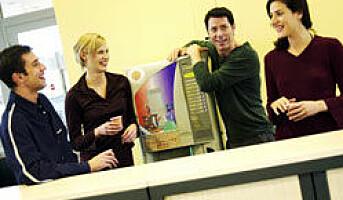 Kaffepause løser problemer på arbeidsplassen