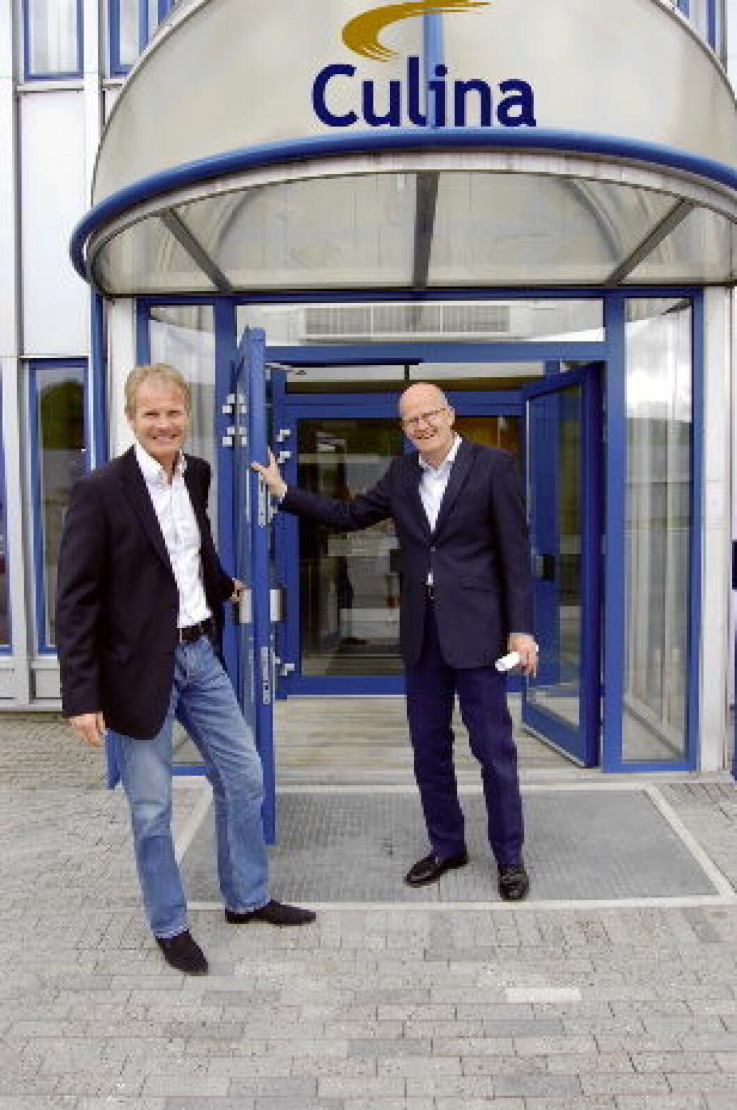 Culina Espen og Arnt Kortgaard Sandvika