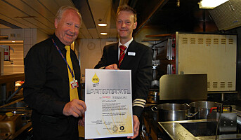 Fjord Line sertifisert for rensing av frityrolje
