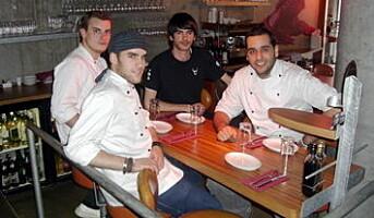 Spanske kokkeelever praktiserer i Norge