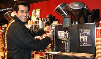 Kaffetørste flypassasjerer