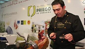 Vin og skinke i sentrum på Madrid Fusión