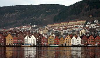 Bergen er dyreste hotellby i Skandinavia