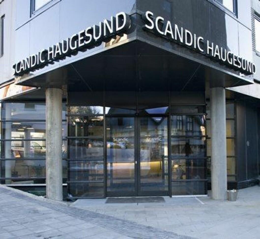 Scandic Haugesund entre