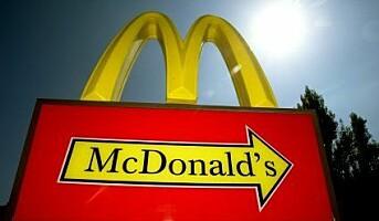 McDonald`s skifter logofarge fra rød til grønn