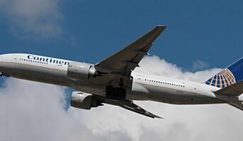 Toppkokker endrer menyen hos Continental Airlines