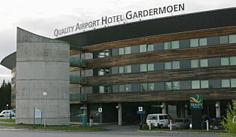 Quality Airport Hotel Gardermoen evakuert