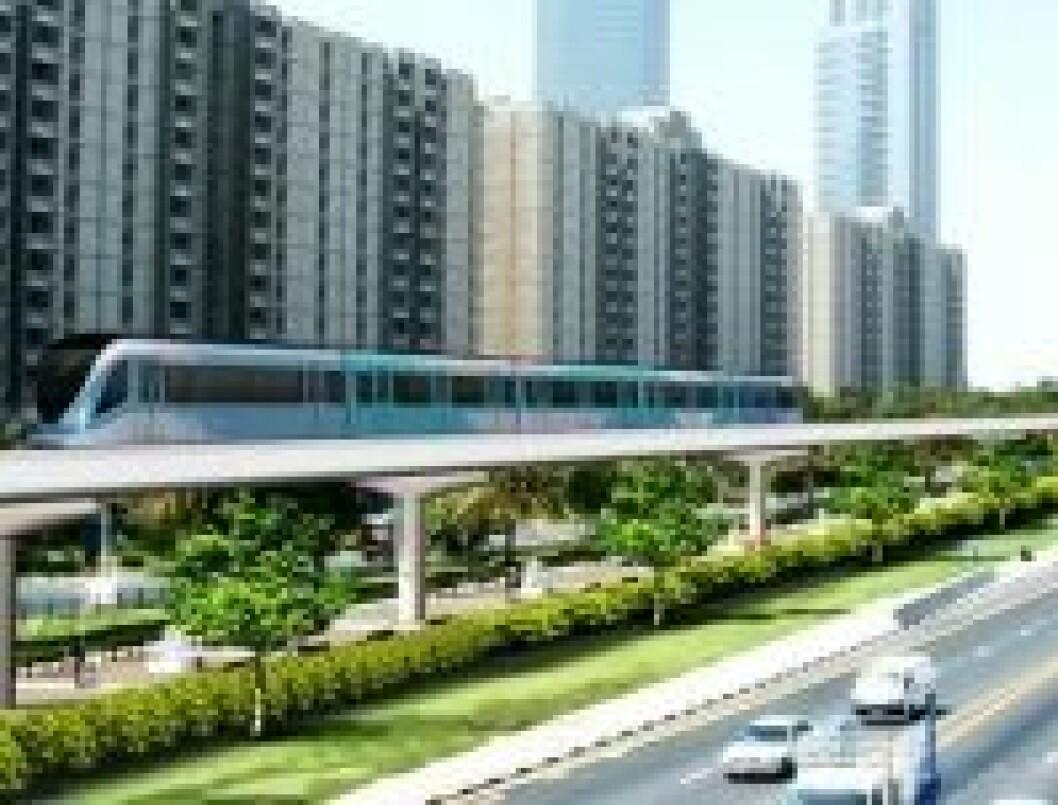 Tunnelbane Dubai