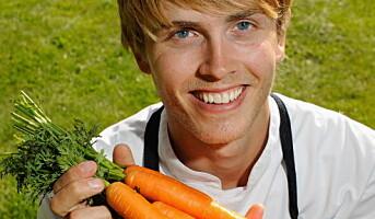 Verdensmester Skeie oppfordrer til å spise norske grønnsaker