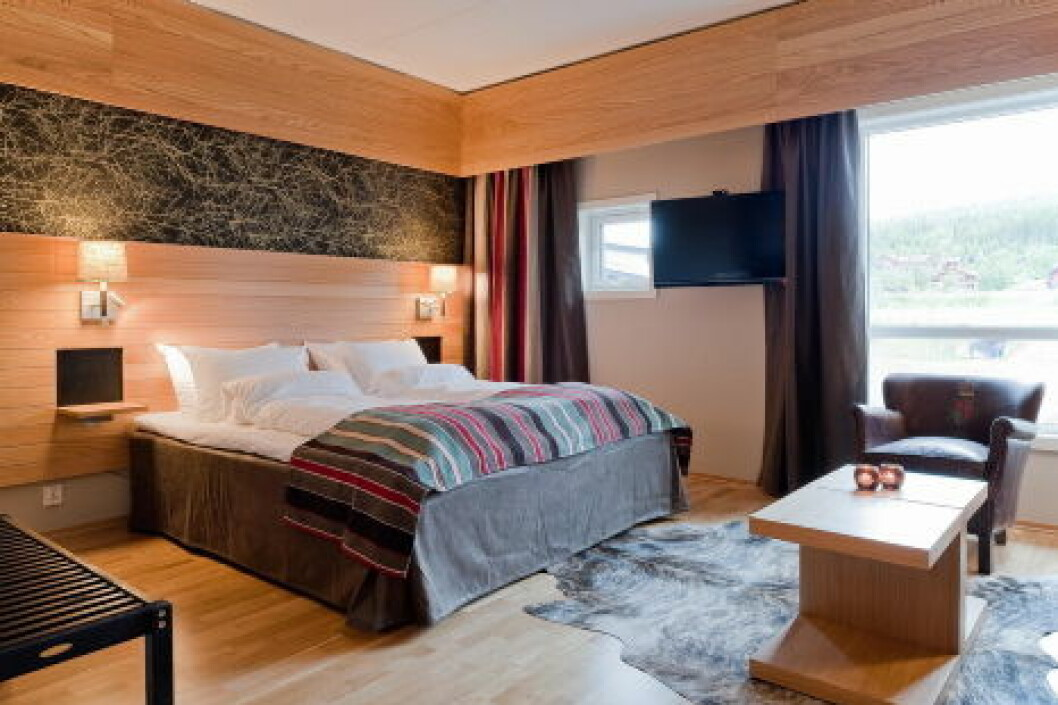 Radisson Blu Trysil Prestige Apartment Soverom nett