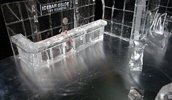 60 tonn med is til isbaren i Oslo