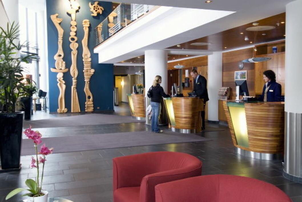 Rica Forum Hotel lobby nett