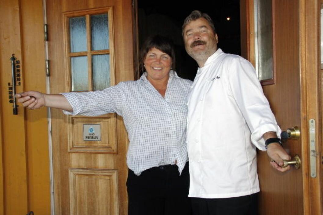 Jon og Anna Aga Vega Havhotell