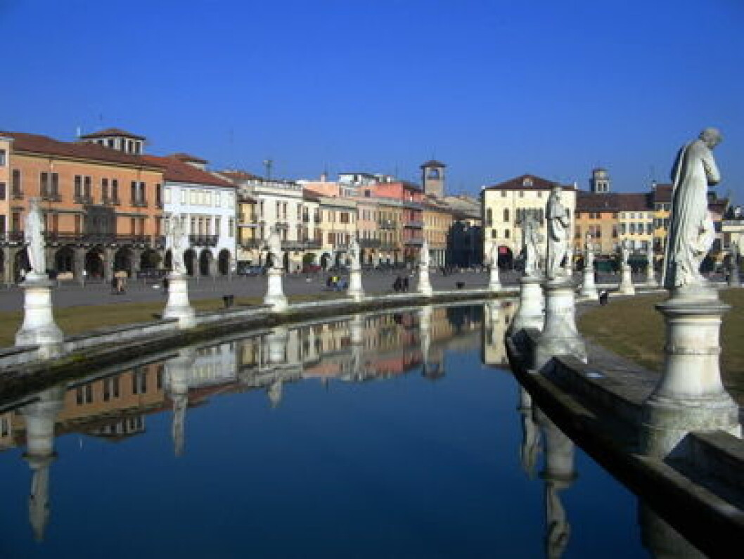 Undervurdert reisemål Prato 7 canale Padova nett