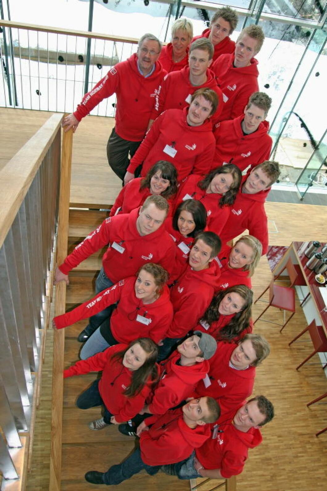 Lag Yrkes-VM Canada 2009 nett
