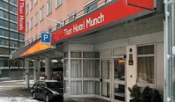 Ran på Thon Hotel Munch i natt