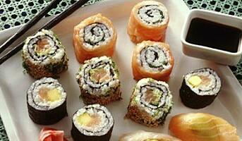 Sushi vokser sterkt i Norge
