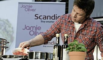 Jamie Oliver med barnemenyene hos Scandic