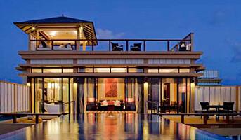 Hotell midt ute i havet