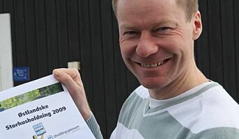Rekord for Østlandske Storhusholdning i år