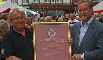 Matprisen 2009 til Helgøs Matsenter