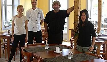 Ny sommerrestaurant i Nyksund