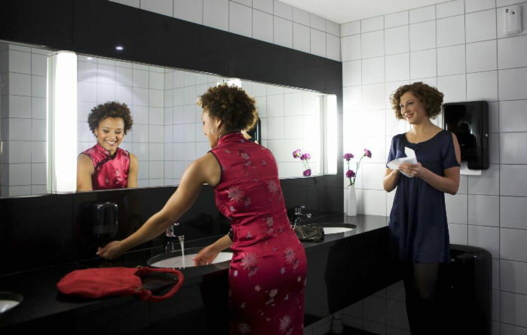 Toalett hygiene illustrasjonsfoto