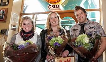 Erdal Ljåstad med Årets Kake 2009