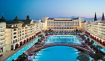 Hotellet har kostet nesten 10 milliarder kroner