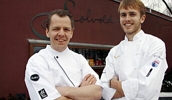 Bocuse d`Or-meny på Solvolds