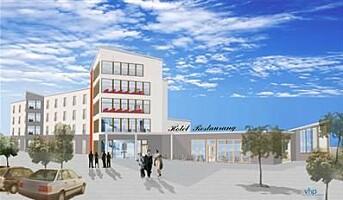 Norlandia-hotellet i Årjäng tar form