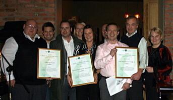 Årets Umoe Catering-leverandører 2008