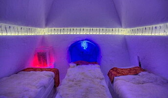 Ishotellet på Hunderfossen åpnes like etter nyttår
