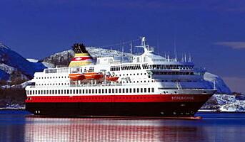 Hurtigruten blir arbeiderhotell i Middelhavet