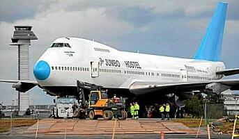 Snart åpner flyhotellet på Arlanda