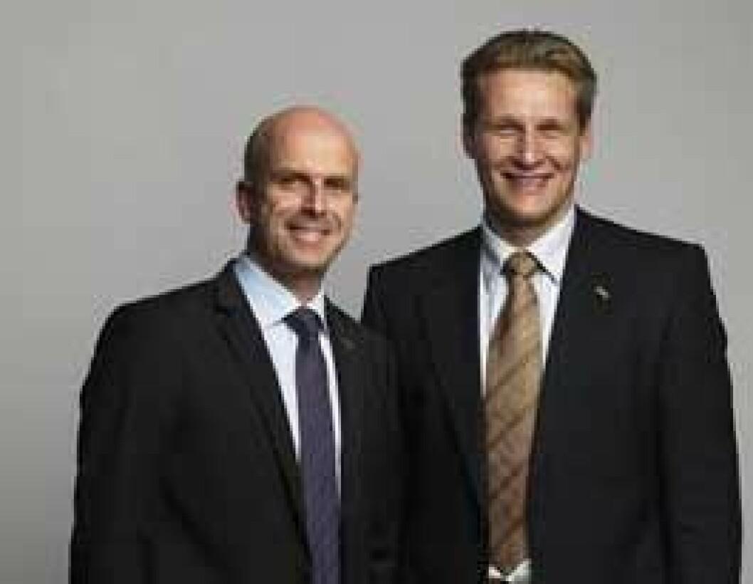 Kenth-Larsson og Sam Holmberg