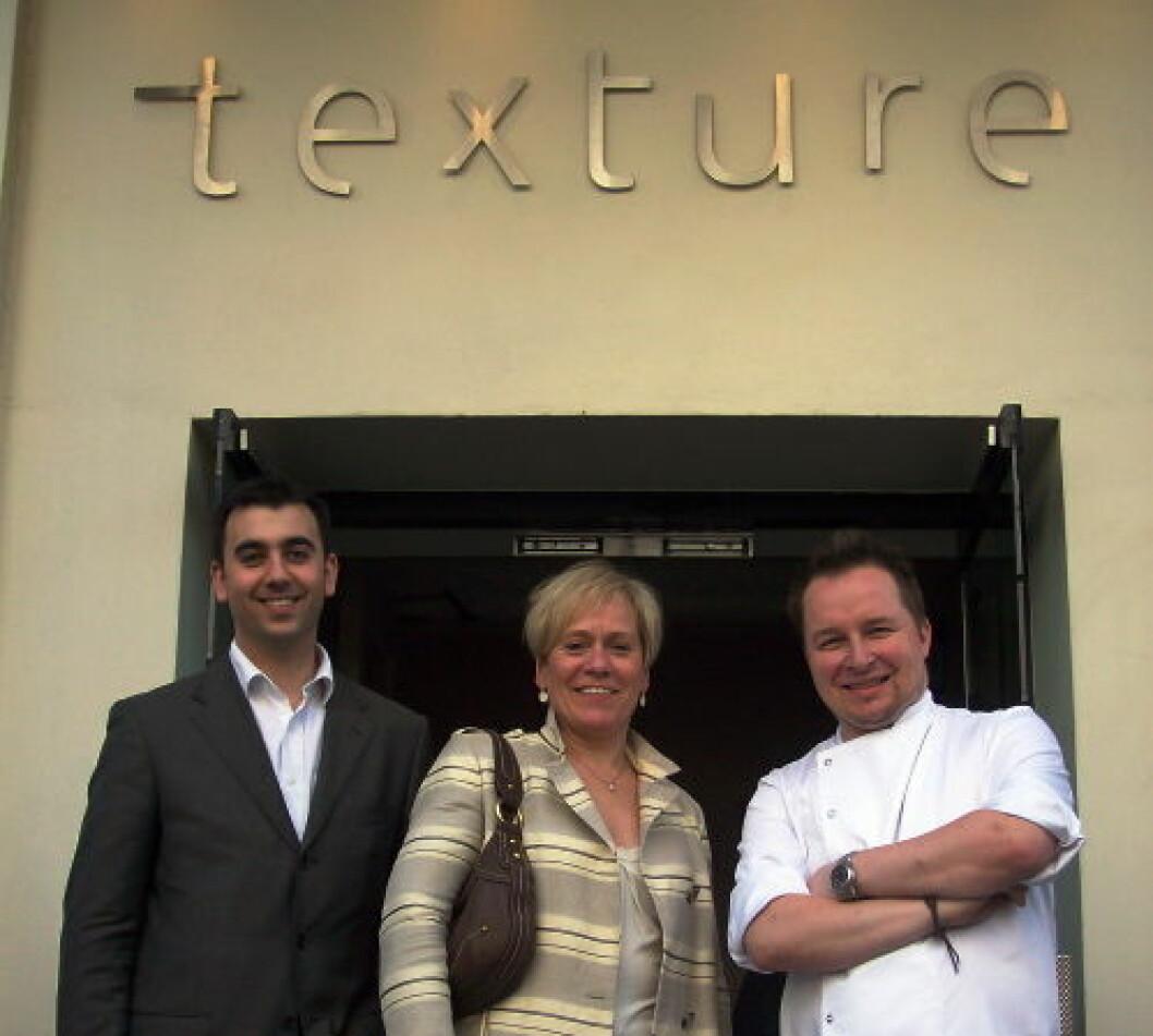 Texture restaurant nett