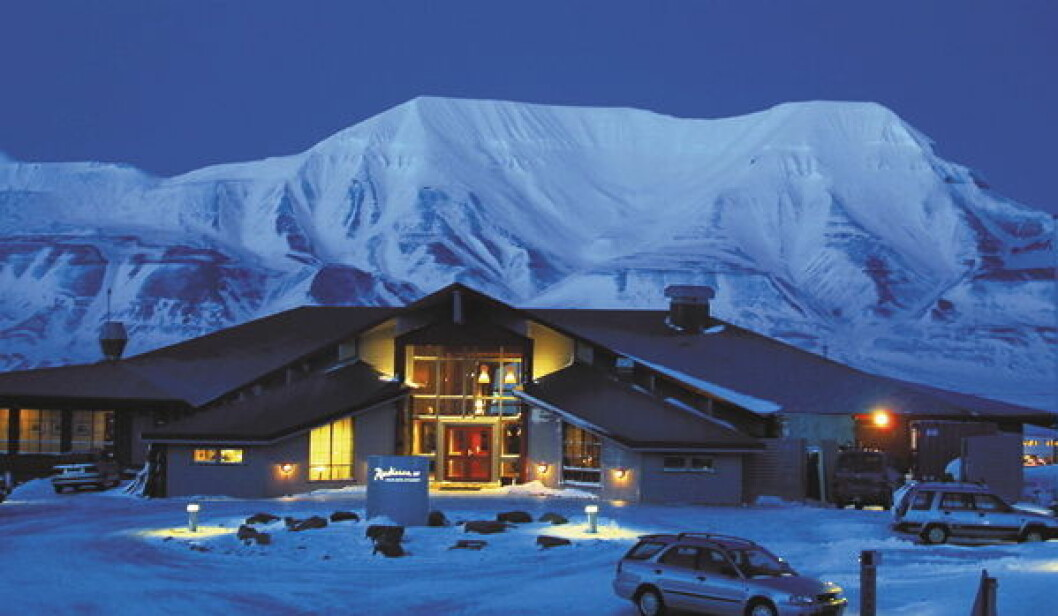Radisson SAS Spitsbergen nett