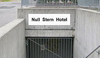 Åpnet hotell med 0 stjerner i Sveits