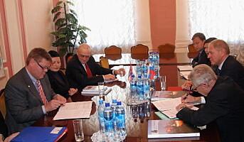 Samarbeid mellom Nofima og russisk forskningsinstitutt