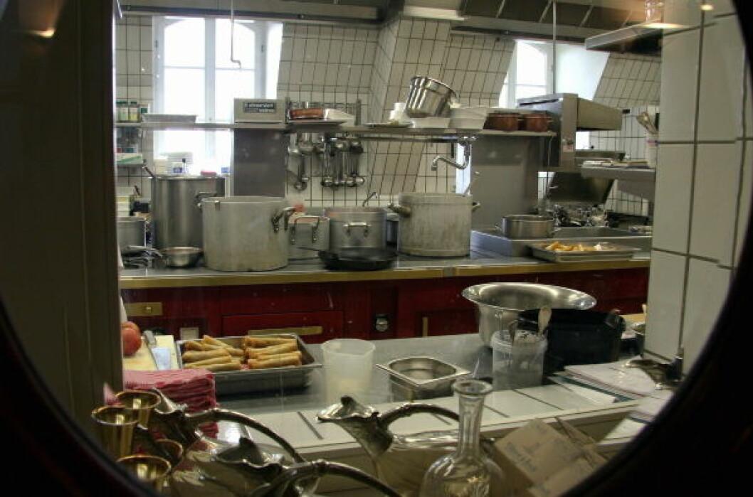 Møkkete kjøkken