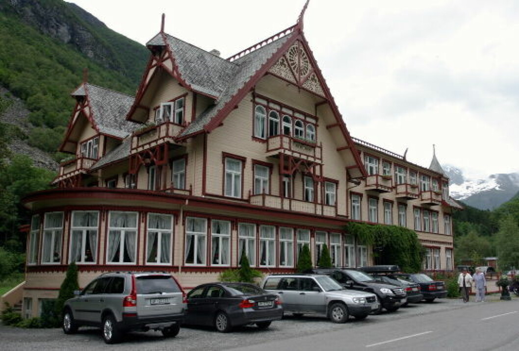 Hotel Union Øye nettet